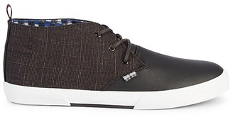 Ben Sherman Bristol Plaid Chukka Sneakers