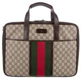 Gucci GG Plus Web Laptop Bag