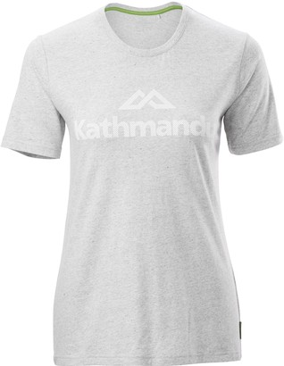 Kathmandu Logo Womens Short Sleeve Crew T-Shirt