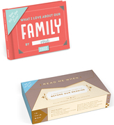 Knock Knock Read Before Our Wedding Box & Family Fill in the Love Journal