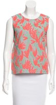Kenzo Patterned Sleeveless Top