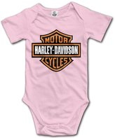 Uncle IVNeck Harley Davidson Logo Unisex Baby Bodysuit