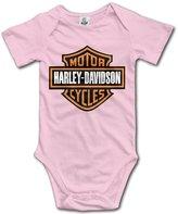 Uncle IVNeck Harley Davidson Logo Unisex Baby Onesies
