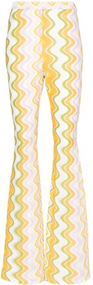 Taller Marmo Maddalena flared trousers