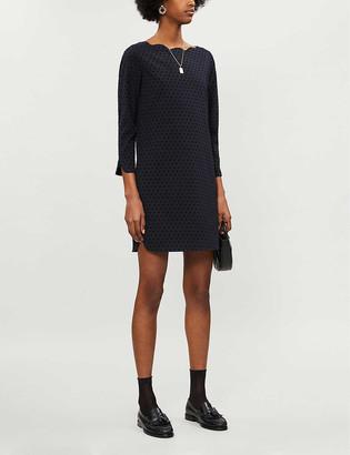 Claudie Pierlot Rover polka dot stretch-woven mini dress