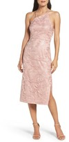 Vera Wang Women's Asymmetrical Midi Dress
