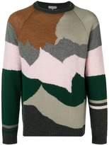 Lanvin cashmere colour block jumper
