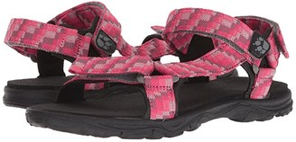 Jack Wolfskin Kids Seven Seas 2 Sandal (Toddler/Little Kid/Big Kid) (Tropic Pink) Girls Shoes