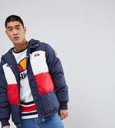 Ellesse Ski Padded Jacket With Logo Hood