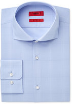 HUGO BOSS HUGO Men's Slim-Fit Light Blue Thin Stripe Dress Shirt