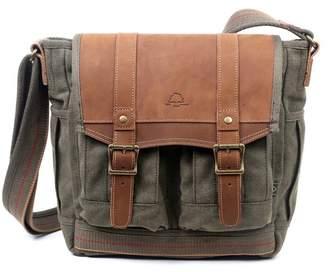 TSD Turtle Ridge 4-Pocket Canvas Crossbody Bag