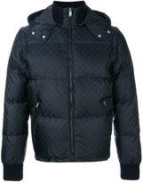 Gucci GG jacquard quilted jacket - men - Polyamide/Virgin Wool/Polyester - 46