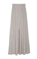 Adeam Grey Deconstructed Linen Ballskirt