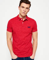 Superdry End On End Jersey Polo Shirt