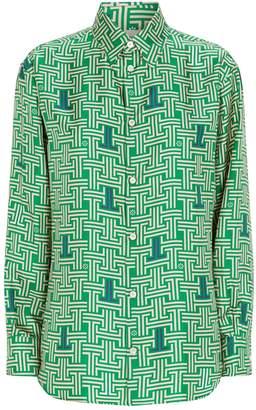 Lanvin Silk Printed Shirt