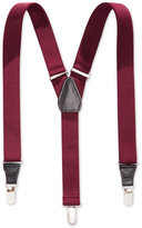 Club Room 25mm Skinny Solid Suspenders, Only at Macy's