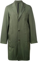 Stutterheim - single breasted coat - men - Cotton/Polyurethane - L