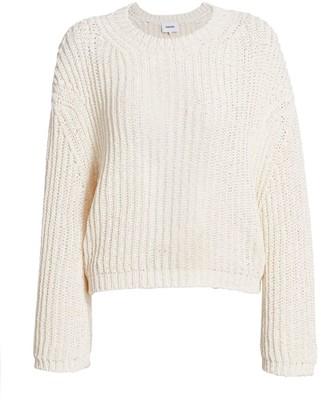 Nanushka Saio Open-Back Sweater