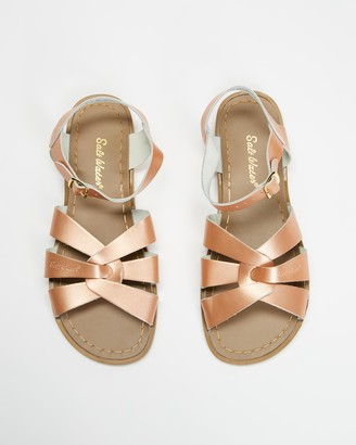Saltwater Sandals - Women's Pink Flat Sandals - Womens Original Sandals - Size 4 at The Iconic