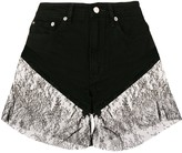 Almaz lace trim shorts