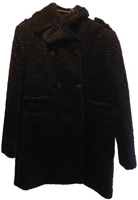 Carven Black Faux fur Coat for Women