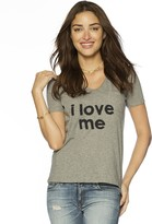 Peace Love World I Love Me James V-Neck Tee