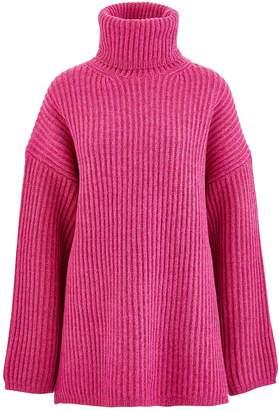 Acne Studios Disa oversize turtleneck sweatshirt