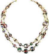 One Kings Lane Vintage Freirich Iris Crystal Necklace