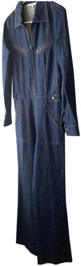 Thumbnail for your product : Gerard Darel Blue Denim - Jeans Jumpsuits