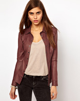 Vero Moda Very By Leather Shirt