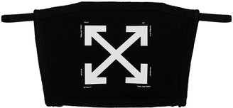 Off-White Arrow Print Face Mask