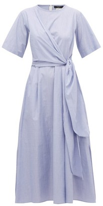 Max Mara Dedalo Dress - Light Blue