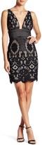 Minuet Floral Lace Dress