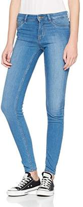 Pieces Women's Pcshape-up A164 Mw Jeggings Lbld/noos Skinny Jeans, Light Blue Denim, / M