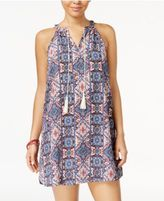 Hippie Rose Juniors' Peasant Shift Dress