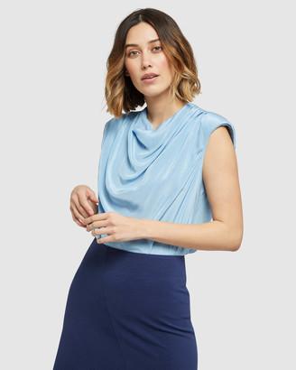 Oxford Carrington Bold Shoulder Top