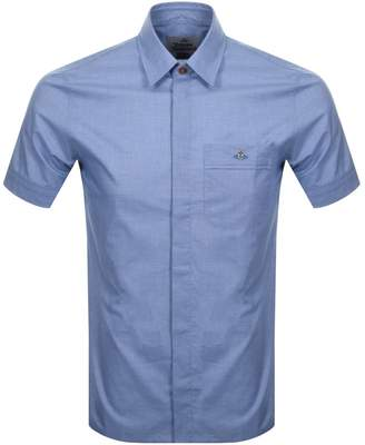 Vivienne Westwood Short Sleeve Classic Shirt Navy