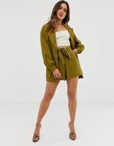 Asos Design DESIGN safari suit shorts