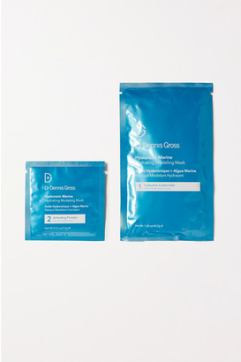 Dr. Dennis Gross Skincare Hyaluronic Marine Hydrating Modeling Mask X 4 - Colorless