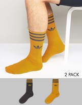 Adidas Originals Shadow Tones 2 Pack Socks