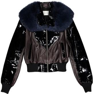 Rodarte Black Leather Jacket for Women