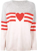 Chinti & Parker cashmere love heart sweater