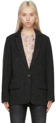 Etoile Isabel Marant Black Charly Blazer