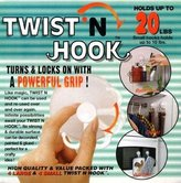 BBQ Guys Twist N Hook 8 Pak (As Seen On TV)