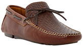 Bertie Woven Front Loafers, Tan