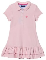 Gant Pink Pique Polo Dress