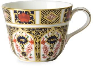 Royal Crown Derby Old Imari 22K Yellow Goldplated & Bone China Tea Cup