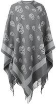 Alexander McQueen skull knit kaftan - women - Cashmere/Wool - One Size