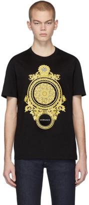 Versace Black Barocco T-Shirt