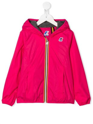 K Way Kids Lily hooded jacket